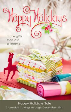 Heather Bailey's Happy Holiday Banner -- so cute!