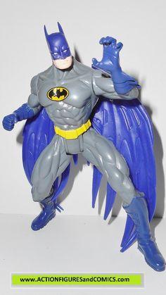 Total Justice JLA BATMAN flight armor dc universe action figures