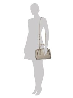 DKNY Handtasche aus genarbtem Leder in Grün - 1