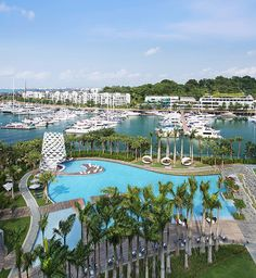 W Singapore Sentosa Cove. Latest Hotel to open in Sentosa.
