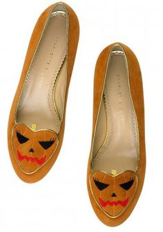 Trick or Treat flats from Charlotte Olympia
