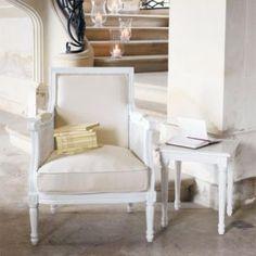 Ivory armchair  - Casanova