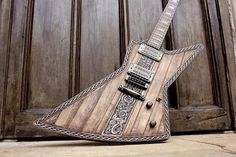 Hutchinson guitar concepts. Viking explorer!