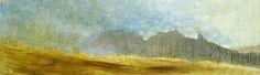 'The Cobbler from Ben Donich - a damp summer day' Abstract Landscape Painting, Landscape Art, Landscape Paintings, Cobbler, Paintings For Sale, Salmon, Scotland, Mountains, Summer