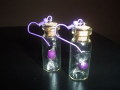 Miniature Clay Candies in a Glass Bottle by KaufmansCreations, $4.50