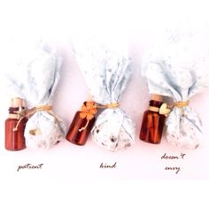 Simple Valentine Chocolate gift + letter inside the bottle