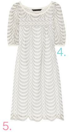 Marc by Marc Jacobs Edith Broderie #Pearl #Dress