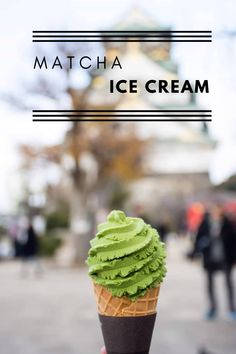 Ice Cream for everyone Matcha Ice Cream, Matcha Tea Powder, Traditional Bowls, Green Kale, Organic Matcha, Healthy Drinks, Stuffed Peppers, Japanese, Summer
