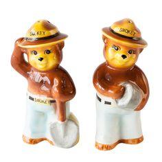 Bears Salt and Pepper Shakers