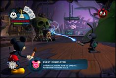 Epic Mickey 2: The Power of Two Game UI on Behance