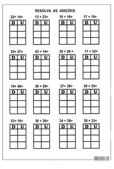 2 Digit Addition without Regrouping Worksheets First Grade, Second Grade, Singapore Math, School Worksheets, Math For Kids, Addition And Subtraction, Kindergarten Math, Math Centers, Homeschool