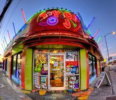 Gotta love Austin! Best toy store ever. TOY JOY.