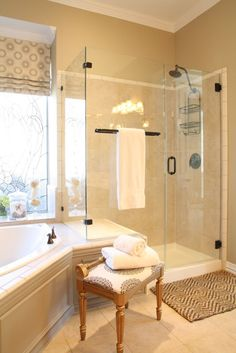 Love this shower!  maybe when we re-do our current tiny shower