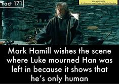 As much as I loved TLJ, I do wish RJ had portrayed Luke differently...