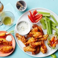 Soy-Lime Baked Buffalo Wings - EatingWell.com