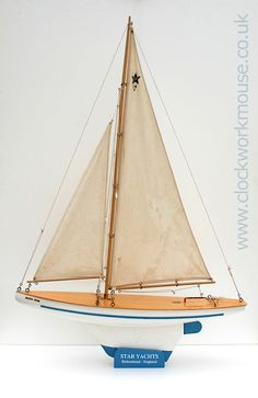 "Vintage ""Baltic Star"" pond yacht"