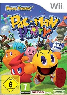 Pac-Man Party - - The legendary Pac Man Brand celebrates the anniversary delivering a game of dozens of mini-games, challenges and surprises. New and updated version of Pac Man delivers f Playstation, Xbox, Arcade, Cry Anime, Anime Art, Wii U, Nintendo Wii, Nintendo Switch, Super Nintendo