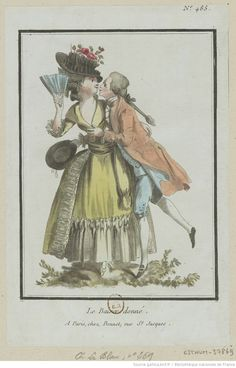 :Le Baiser donné. : [estampe] / [Louis-Marin Bonnet] Auteur:Bonnet, Louis-Marin (1743-1793). Graveur