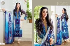 Mf Karishma kapoor dresses Fabric :printed satin with lace and chiffon duppata For order or further details plzz contact at 9924177066