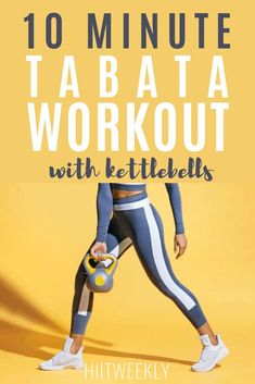 Blast fat with this quick Tabata workout with weights that you can do at home or at the gym for rapid results. Great Ab Workouts, Beginner Workouts, Best Cardio Workout, Workout For Beginners, Workout Videos, At Home Workouts, Tummy Workout, Cardio Workouts, Body Workouts