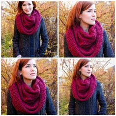 I did promise you all a free pattern, right? I'm excited to introduce the Stockholm Scarf, which is a luxuriously large and cozy infinity scarf.