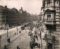 Berlin, Blick in die Alexanderstrasse, um 1910