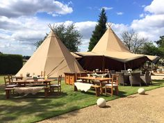 Rustic wooden wedding furniture, perfect for a country wedding Events Under Canvas - Tipi Hire Suffolk, Norfolk & Essex Tipi Wedding, Wedding Events, Weddings, Wedding Ideas, Tipi Hire, Wedding Furniture, Sailing Outfit, Camping Checklist, Festival Wedding