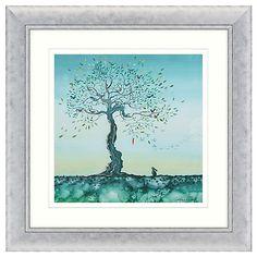 Buy Catherine Stephenson - Hope Embellished Framed Print, 71 x 71cm Online at johnlewis.com