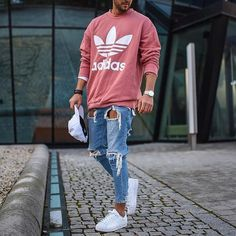 """9,258 curtidas, 35 comentários - MEN'S FASHION & STYLE (@mensfashions) no Instagram: """"Follow @bestofstreetstyled for daily men fashion inspiration. Style by @_donthiago_ """""""