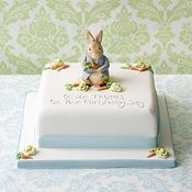 peter rabbit shower cakes   Found on londoncake.co.uk
