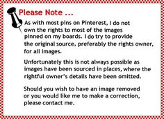 Pin Disclaimer: Deborah Tulpa via Joy Logan Burkhart - this makes me think of all the timeI have spent trying to credit etsy artisans - sigh, it's just sad to me that etsy refers back to etsy rather than the fine artists who make etsy, well, ETSY! My Pinterest, Good To Know, Just In Case, Decir No, Helpful Hints, How To Remove, Boards, Thankful, Let It Be