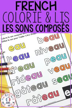 Learn French For Kids Free Printable French Videos Tips Ideas Read In French, Learn French, French Stuff, French Lessons, Spanish Lessons, Reading Lessons, Teaching Reading, Teaching French Immersion, Learning People