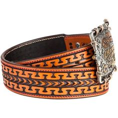 Shop NRS Red Stitched 1 3/4in. Antique The Answer Don Carlos Belt