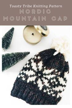 b6ad0008e7b toasty tribe knittin. Gloria Ragland · Knitting Patterns · Fair Isle Knit  Hat ...