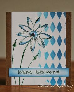 Corine's Art Gallery: Loves me. Texture Painting On Canvas, Fabric Painting, Advent, Paint Cards, Cricut Cards, Heart Cards, Flower Cards, Diy Cards, Doodle Art