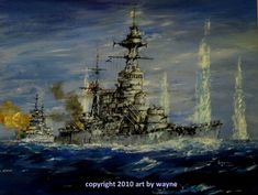 Seconds from Eternity, HMS Hood and Prince of Whales