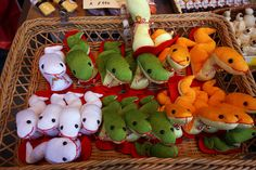 Decorative snakes on offer at a shop in Tokyo's Asakusa area in advance of the Year of the Snake, 2013. The snake is one of the animals that give their names to the 12-year cycle of the Chinese zodiac. The zodiacal system is followed in Japan as well, but is timed with the Western new year instead of the Chinese one. The Year of the Snake is supposed to be one of discretion, modesty and industriousness. (Photo and caption by Louis Templado)