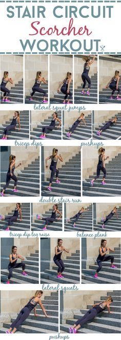 Circuit Scorcher Workout A full body cardio and strength training workout for stairs. Blast calories quickly with this stair workoutA full body cardio and strength training workout for stairs. Blast calories quickly with this stair workout Bleacher Workout, Stadium Workout, Park Workout, Workout Circuit, Cardio Workouts, Boxing Workout, Polymetric Workout, Kettlebell Cardio, Weight Workouts