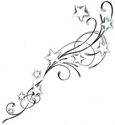 Star Tattoos - Click image to find more tattoos Pinterest pins