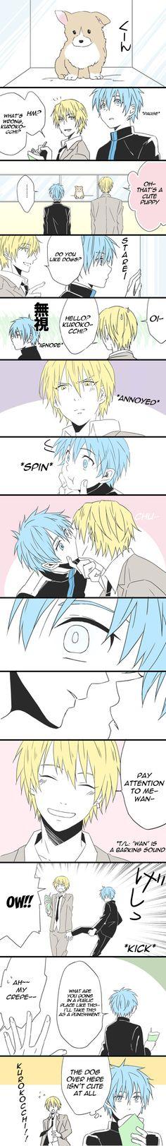 Ahahahhahha... but Kurokocchi, Kise is a big sweet dog ^^
