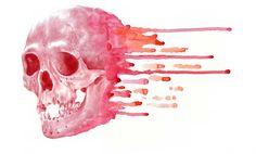 skull en rosa