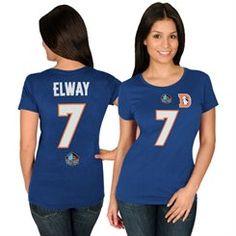 Women's Denver Broncos Wes Welker Majestic Orange Draft Him IV T ...