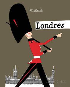 Londres Impressão artística