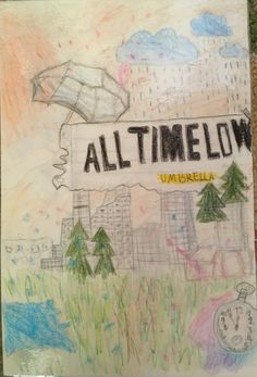 I Painted the Cover from All Time Low