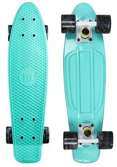 "Mayhem Cruiser Board 22"" x 6"" Skateboard - Celestial Swirl Black"
