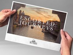 Escorted Tours Brochure For Luxury Travel Company The Ultimate Travel  Company, By Spinach Design (
