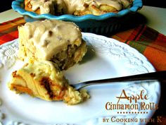 Apple Cinnamon Rolls by Cooking with K | Kay Little
