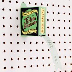 Knock Knock Fortune Dispensers | KnockKnockStuff.com