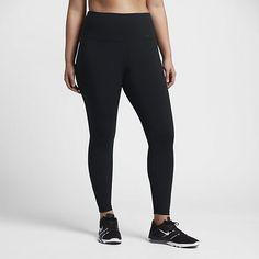Nike Power Legendary - træningstights med høj talje til kvinder (plusstørrelse)