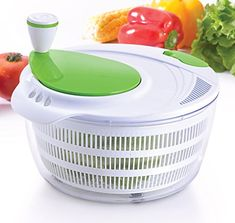 [$12.7 save 16%] Amazon Lightning Deal 91% claimed: Kuuk Salad Spinner - Dry Salad Vegetables Fruit Pasta #LavaHot http://www.lavahotdeals.com/us/cheap/amazon-lightning-deal-91-claimed-kuuk-salad-spinner/133986